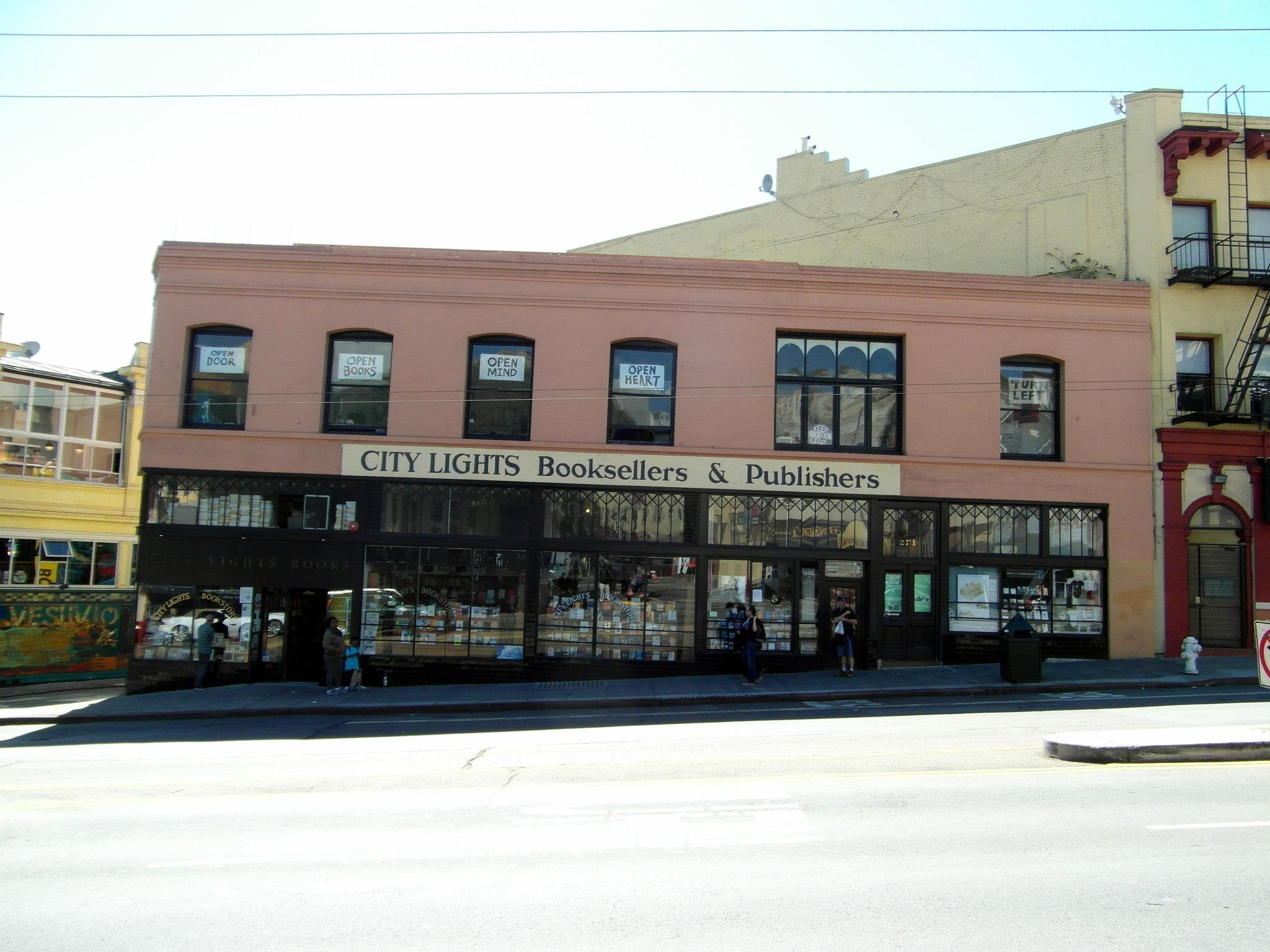 The Badgers Literary Pilgrimage The City Lights Bookstore San